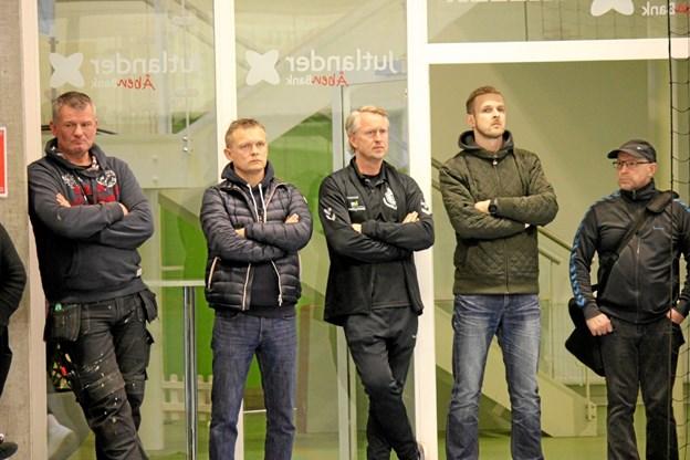 Der var mange tilskuere med fra Halvrimmen og de omkring liggende byer til Løgstør til den afgørende opryknings kamp. Foto: Flemming Dahl Jensen Flemming Dahl Jensen
