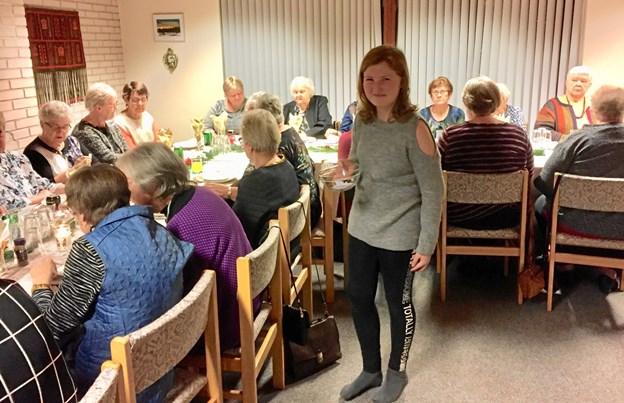 Spiseklubben Grydeklar henvender sig til enlige kvinder - åbenbart i alle aldre. Privatfoto