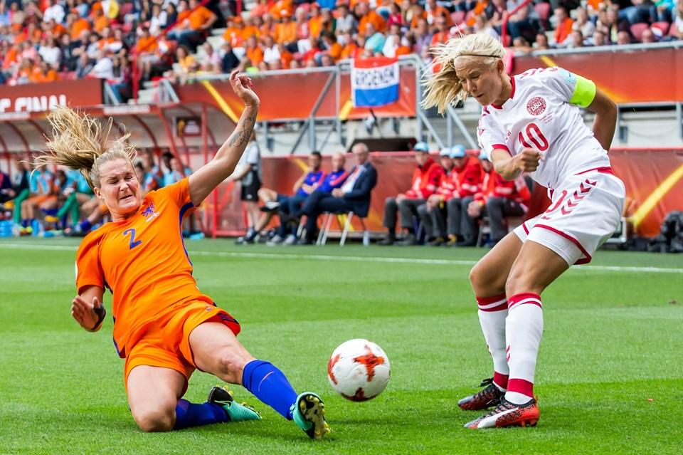 Danmark møder Holland i finalen under Kvinde EM FODBOLD Foto: /ritzau/Kay Int Veen/arkiv