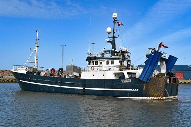 Bortset fra navnet på skibssiden agter, beholder Lingbank sit udseende og sit navn. Ole Iversen