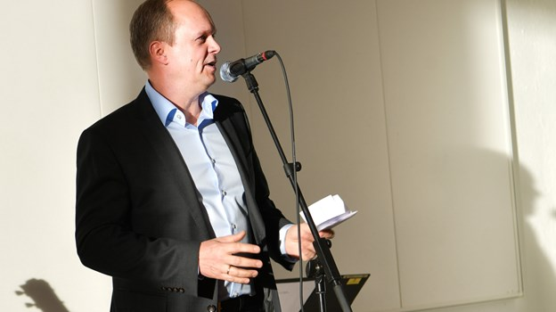 Martin Pedersen, nytiltrådt direktør. Foto: Kim Dahl Hansen Foto: Kim Dahl Hansen