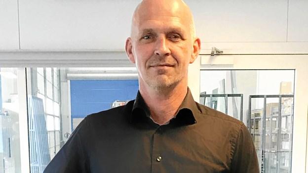 Jesper Kallesø Clausen er ny lager- og logistikchef hos Glaseksperten