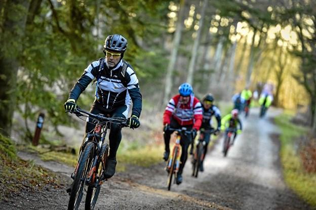 Hele løbet blev afviklet på grusveje i skovene - derfor var påvirkningen af skovbunden minimal.Foto: Ole Iversen Ole Iversen