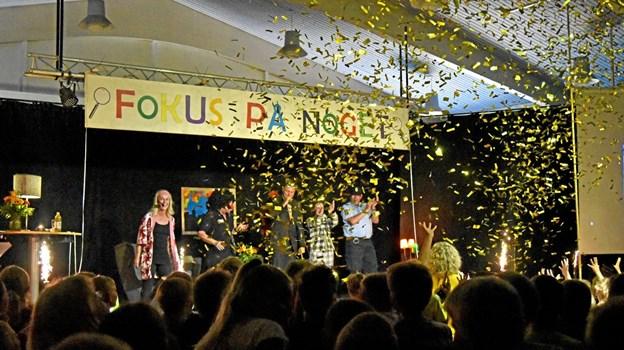 """Alt ender heldigvis godt, så nu kan der synges """"Ferie, ferie…"""" til kaskader af konfetti og fyrværkeri. Foto: Niels Helver Niels Helver"""