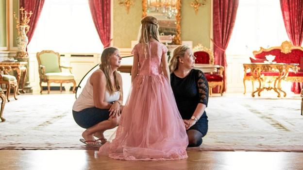 """Udgangspunktet for """"Min Prinsesse Drøm"""" har lige fra starten været at give piger med livstruende sygdomme og deres familier et tiltrængt afbræk fra en hverdag, hvor der kan være langt imellem smil og glæde.  Privatfoto"""