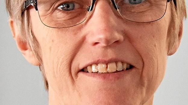 Jette Imer Olesen tiltrådte for 40 år siden i Fjerritslev Bank, der nu hedder Jutlander Bank. Privatfoto
