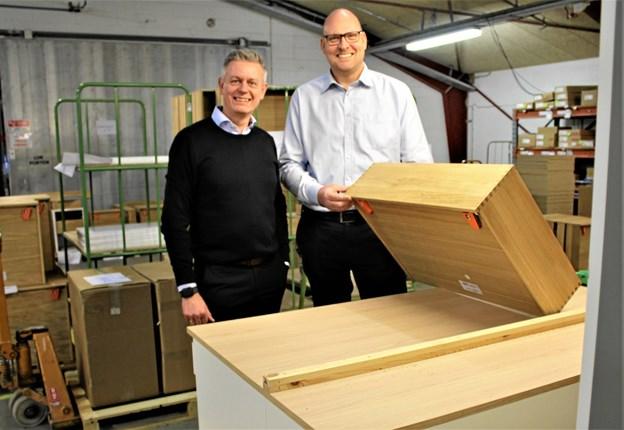 Mads Radoor Sørensen er ny produktionsdirektør hos JKE Design i Jerslev. Privatfoto