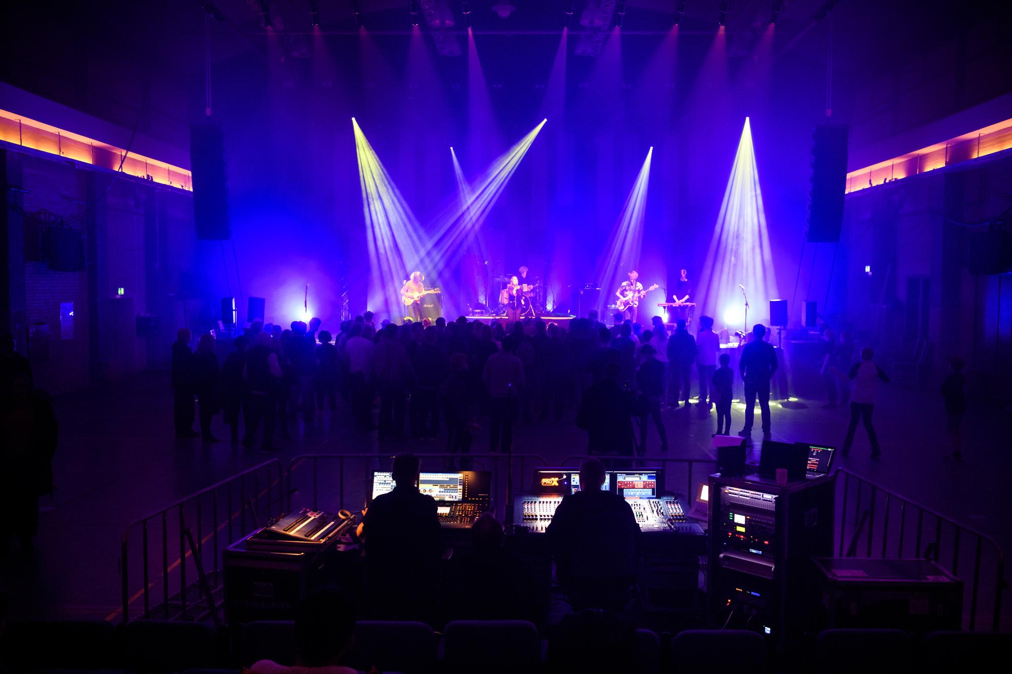 Musikfestival har vokseværk