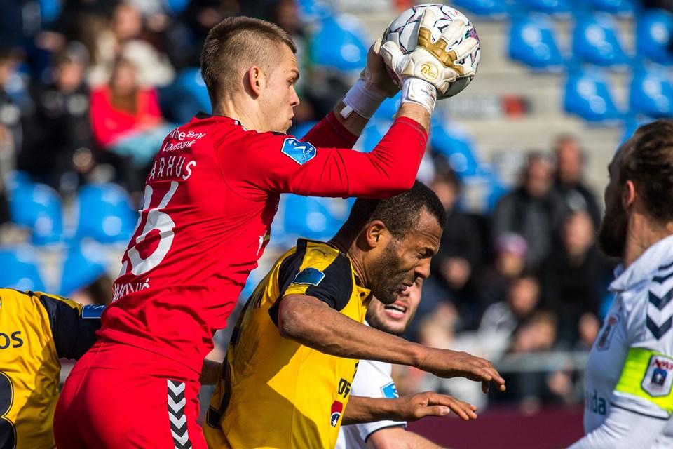 Hobro IK AGF 1-3 Foto: Andreas Falck