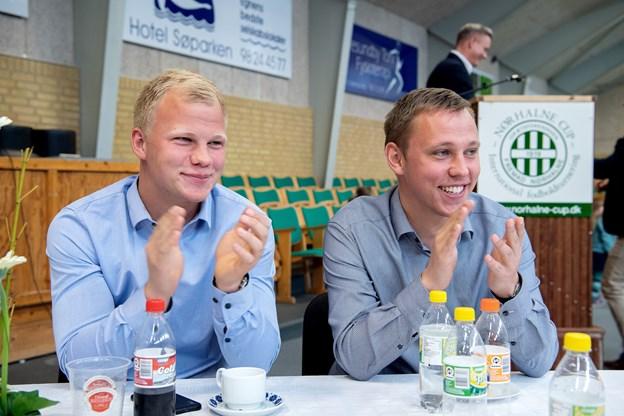 Brødrene Lasse og Alex Husted. Foto: Lars Pauli © Lars Pauli