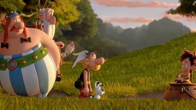 Asterix og Obelix er på nye eventyr. Pressefoto