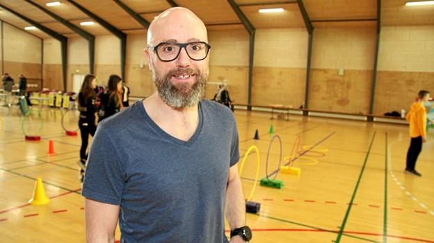Stefan Madsen havde inviteret to divisions spillere fra Aalborg Håndbold til Aabybro. Flemming Dahl Jensen