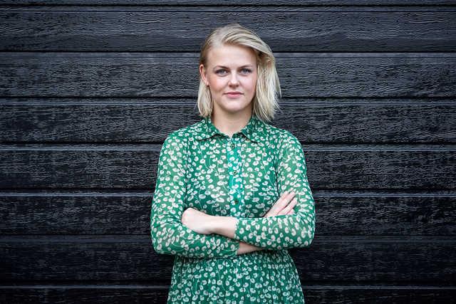 Klummeskribent Christine Delmar. Foto: Henrik Bo