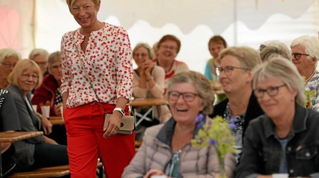 110 publikummer var på plads til tirsdagens modeshow. Foto: Allan Mortensen Allan Mortensen