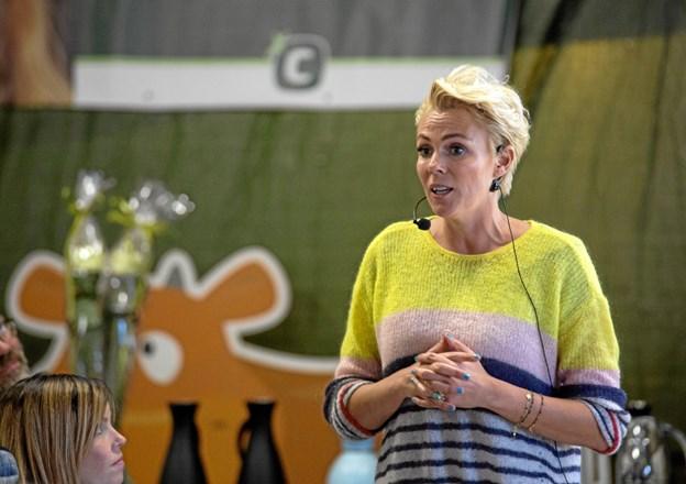 TV-vært Lene Beier er bl.a. kendt fra Landmand Søger Kærlighed på TV2. Privatfoto