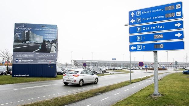 219591ea7d1 Rejsende fra Aalborg Lufthavn kan se frem til 900 ekstra gratis p-pladser.  Arkivfoto