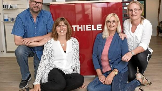 Team Thiele Hadsund. Foto: Privat.