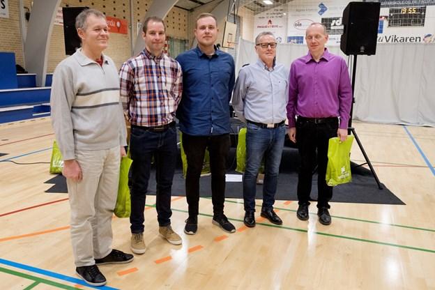 Vinderholdet - Team Fedtfri.Foto: Torben Hansen