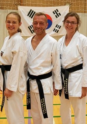 3 x sort bælte til Rebild Taekwondo
