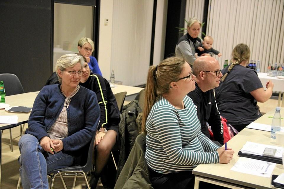 Der var 45 tilmeldt aftenens ildsjæle akademi. Foto: Flemming Dahl Jensen Flemming Dahl Jensen