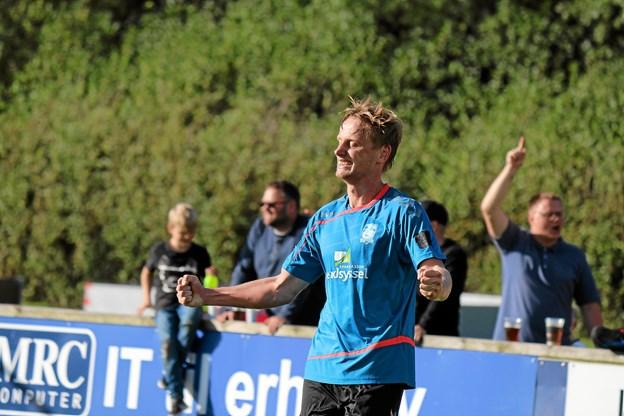 Michael Stokbro har forlænget aftalen med Jammerbugt FC. Arkivfoto: Flemming Dahl Jensen