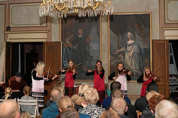 Der vil både være koncert den kommende weekend og weekenden i oktober på Musikværket, når henholdsvis Louise Hyrup og Kim Sjøgren er gæstelærere for skolens elever.Arkivfoto