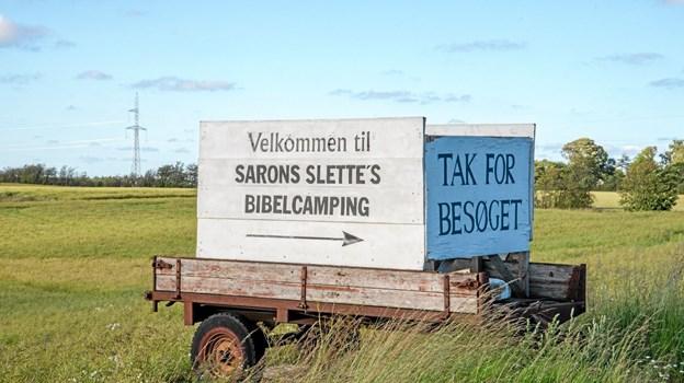 Saron Slettes Missions- og Nødhjælpscenter lagte lokaler til Gatten Camp 2019. Foto: Mogens Lynge Mogens Lynge