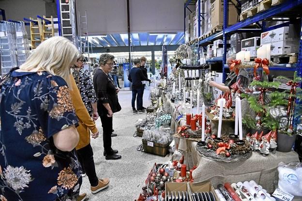Men ikke alt handlede om værktøj og materialer. Der var også indslag om tøj, sidste nye julepynt, nye hudprodukter og is fra Premier.