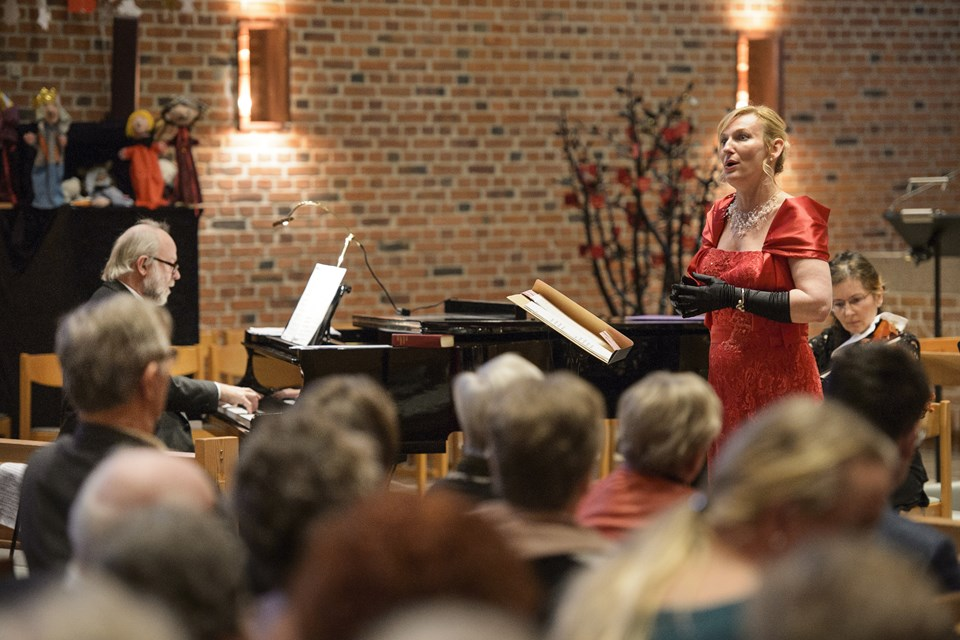 Her et glimt af nytårskoncerten 2016. Arkivfoto Peter Broen. Peter Broen