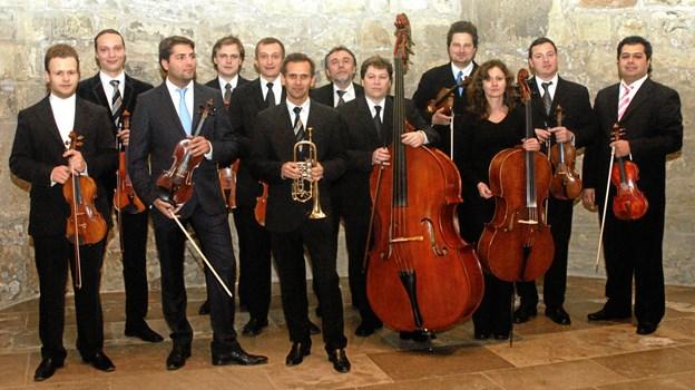 Åbningskoncerten i Frederikshavn Kirke er lagt i hænderne på Kammerphilharmonie Europa