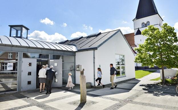 Sangcafe i Sindal SognegårdArkivfoto: Bent Bach