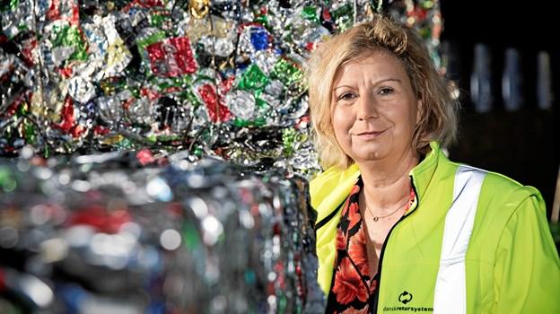 Vicedirektør i Dansk Retursystem og direktør med ansvar for området cirkulær økonomi Heidi Schütt Larsen. Foto: Ty Stange