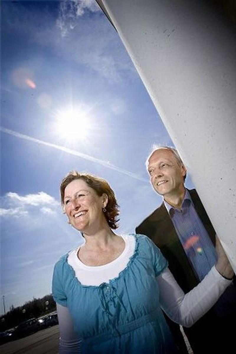 4fd2429fa14c Som designambassadører er det Luise Linnemann Rasmussen og Flemming  Jørgensens mission at få nordjyske virksomheder til at se lyset