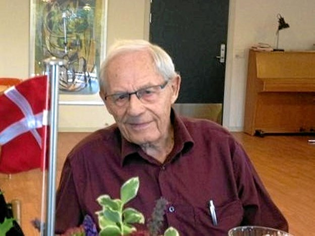 Jens Olesen fylder 95 år. Foto: Privat