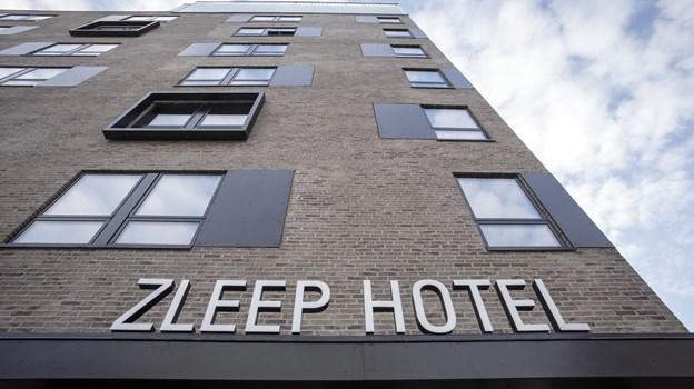Zleep Hotel Aalborg ligger på Godsbanen tæt på busterminalen. Foto: Martel Andersen