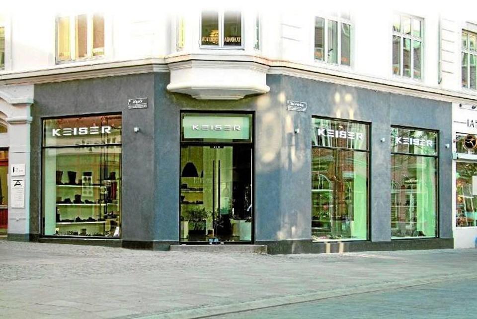 376d6c75561 Efter 35 år vil ejerne af Keiser Sko i Aalborg og Viborg nu trække sig  tilbage.Arkivfoto