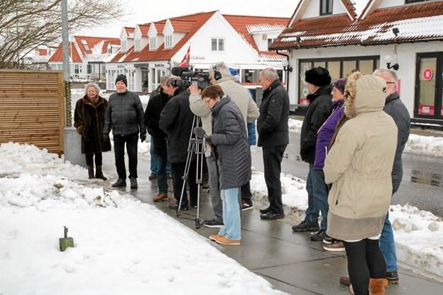 Mindedagen er blevet en tradition. Foto: Flemming Dahl Jensen Flemming Dahl Jensen