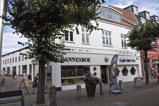 Byfonden håber på mange gode snakke over hækken på forårsmessen - og gerne gode input til smukke facader, som her i Danmarksgade