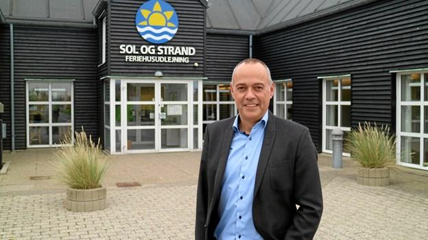 Administrerende direktør i Sol og Strand, Per Dam, er glad for resultatet. Arkivfoto