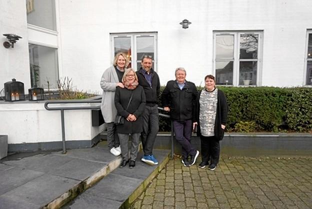 Efter generalforsamlingen er bestyrelsen sammensat af: Charlotte Hove, Henrik Mikkelsen, Jens Fridlev, Karin Vad, Søren Bak og Mie Sørensen. Privatfoto privatfoto