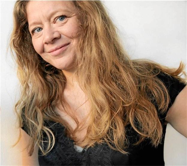 Christina Bjørkøe kan opleves på Mariagerfjord Gymnasium 7. april. Privatfoto