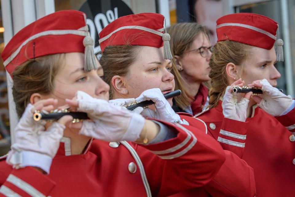 Aalborg Garden var lørdag 27. oktober forbi Brønderslev for at samle stemmer. Foto: Peter Broen