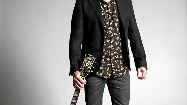 Allan Olsen - kommer 11. oktober til at optræde for fuldt hus i Kulturhuset i Arden. PR-foto