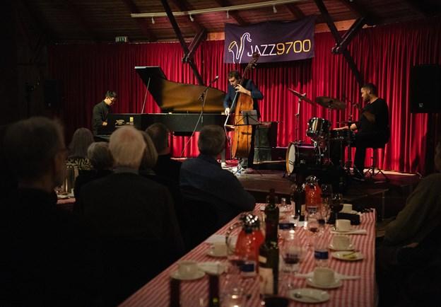 Der var masser af musik i Den Runde, da Jazz 9700 bød på en aften med jazz. Foto: Hans Ravn HANS RAVN