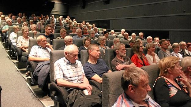 »Kongernes Fald« blev vist for en fyldt sal i Fjerritslev Kino.