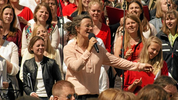 Lørdag 30. marts er der gratis gospel koncert med lokale workshop-sangere leder af Heidi Bisgaard.Privatfoto