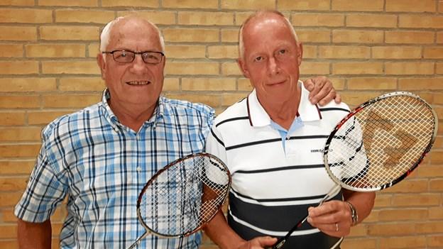 Gunnar og Flemming vil vente på svar....   ?Foto: Arne Larsen-Ledet