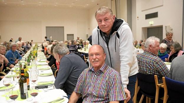 Ove Pape og Carl Johansen blev nyvalgt som suppleanter. Øvrige valg var genvalg. Bestyrelsen består herefter af syv medlemmer samt tre suppleanter, der også deltager i bestyrelsesmøderne. Foto: Tommy Thomsen Tommy Thomsen