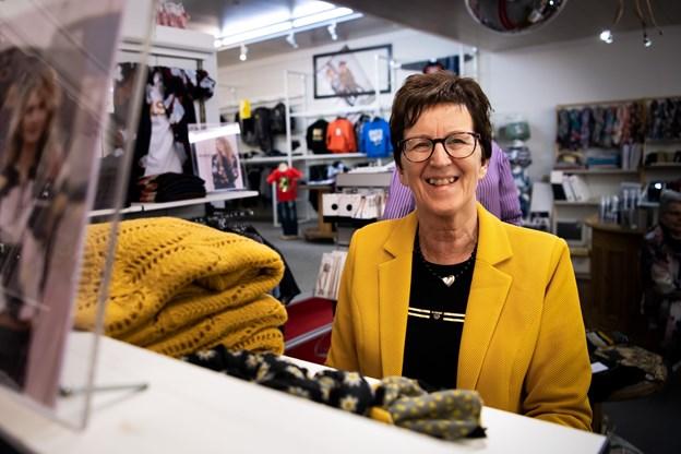 Ved et tilfælde fandt hun for 45 år siden ud af, at daværende Dahlgaards Frabriksudsalg manglede en medarbejder. Foto: Diana Holm @ Diana Holm
