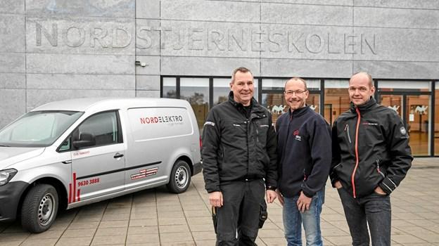 På Nordstjerneskolen er Nordelektro blevet valgt af DEAS til at servicere bygningens installationer